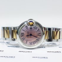 Cartier Ballon Bleu Mother of Pearl Pink Ladies - W2BB0011