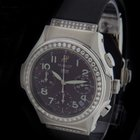 Hublot Steel Elegant Chronograph Diamond Watch 1810.B30.1.054