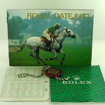 Rolex Datejust Manual Info Booklet 1999 English