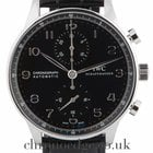 IWC Portuguese Steel Automatic Chronograph IW371447