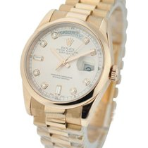 Rolex Unworn 118205 Rose Gold Mens President Day - Date with...