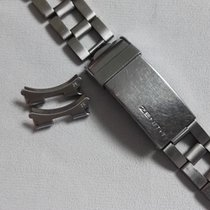 Zenith band steel gay freres clasp 4/70 for sub diver ref.A3630
