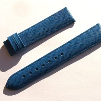 Zenith Leather Band Strap Blue 18 Mm 73/113 New Z18-01
