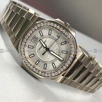 Patek Philippe - Nautilus 7011/1G-001 Customized Diamond Bezel...