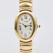 Cartier Baignoire 18k yellow gold ladies Mint 1999 B+P