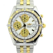 Breitling Chronomat Men's White Dial Stainless Steel And...