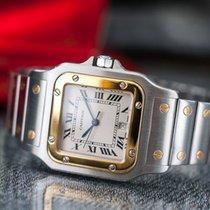 Cartier Santos Steel/Gold Quartz
