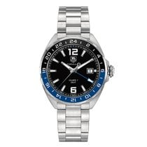 TAG Heuer Formula 1 41mm Date GMT Automatic Mens Watch...