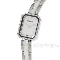 Chanel Première Diamond Bezel White Ceramic Steel 15MM Quartz