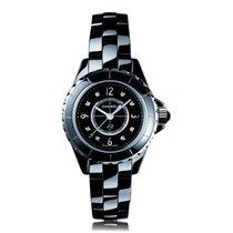 Chanel J12 29mm Black Diamond Ladies Watch H2569