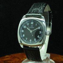 Omega Art Deco Art Deko Handaufzug Edelstahl Unisexuhr /...