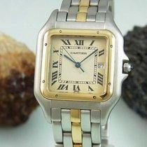 Cartier Panthere Stahl / 750 - 18k Gold | Damenuhr 29 Mm X 39 Mm
