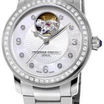 Frederique Constant Heart Beat Automatic Steel Womens Watch...