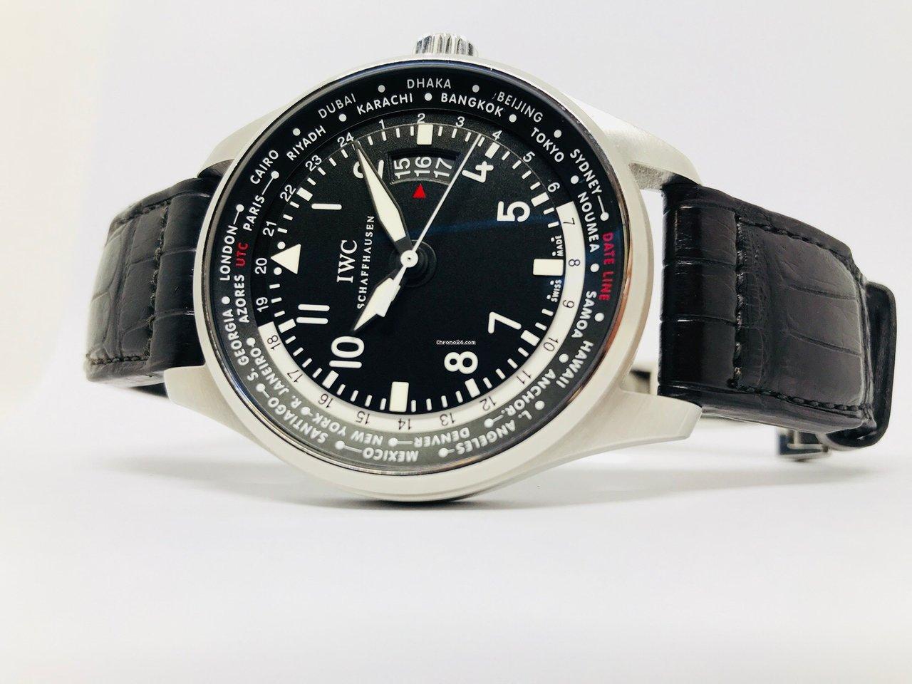 IWC Pilot Worldtimer eladó 1 448 307 Ft Trusted Seller státuszú eladótól a  Chrono24-en 74edf462ac