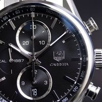 TAG Heuer Men's  Carrera Cal. 1887 Chrono Steel on Steel...