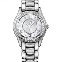 Ebel X-1 Steel Case, Mother Of Pearl Dial, Diamond Bezel