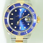 Rolex Oyster Submariner Gold Steel Bleu Dial 40 mm ,full set