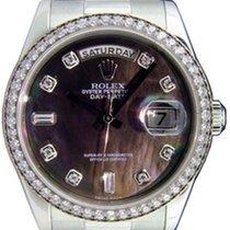 Ρολεξ (Rolex) Day-Date 36 118346-DMOPDDP Dark Mother of Pearl...