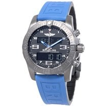 Breitling Exospace B55 Connected Blue Rubber Men's Watch