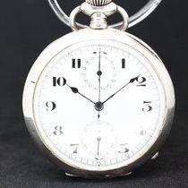 Anonymous Taschenuhr Silber Chronograph um 1800 Chronometre