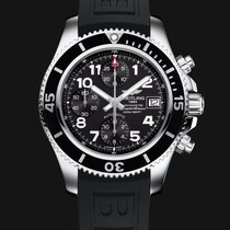 Breitling SuperOcean Chronograph 42mm Black Dial T