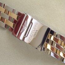 Breitling Pilotband Stahl / Gold 20 mm für Astromat  € 2980,