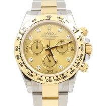 Rolex Cosmograph Daytona 116503 Champagne Diamond Tachymetre...