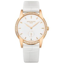 Patek Philippe Ladies Calatrava Timeless White