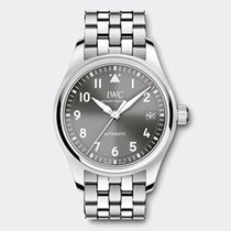 IWC Pilot's Watch 36mm Slate Grey Dial Stainless Steel...