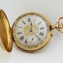 G.A. Huouenin&Fils Vintage Manual Winding Packet Watch Ref.