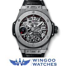 Hublot - TOURBILLON POWER RESERVE 5 DAYS TITANIUM Ref....