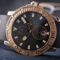Ulysse Nardin Maxi Marine 18k Rose Gold Power Reserve