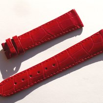 Zenith Croco Band Strap Red Roja 20 Mm 78/114 New Nueva Z20-15