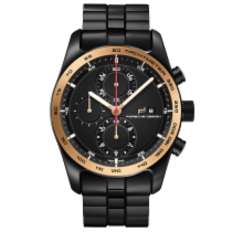 保時捷 (Porsche Design) Chronotimer Series 1 Black & Gold
