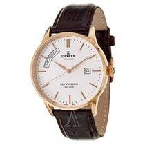 Edox Men's Les Vauberts Day Date Automatic Watch