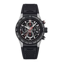 TAG Heuer Carrera Caliber Heuer 01 Skeleton 45mm  Mens Watch...