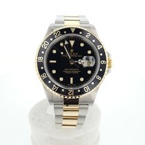 Rolex GMT Master II  BOX and PAPERS  16713 Like New Mens WATCH