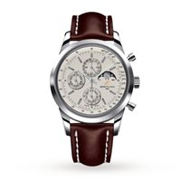 Breitling Transocean Gents Chronograph Mens Watch A1931012/G75...