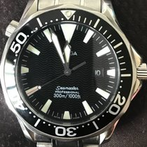 Omega Seamaster Stainless Steel Men FULL SET BOX AND PAPERS