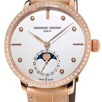 Frederique Constant Manufacture Slimline Moonphase Womens...