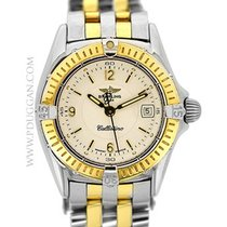 Breitling stainless steel and 18k yellow gold ladies Callistino