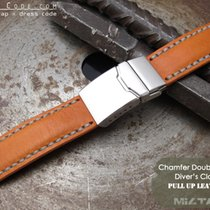 IWC 21mm Pull Up Leather Replacement Band #C1J01