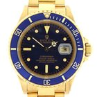 Rolex vintage 1986 18k yellow gold Submariner