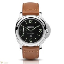 パネライ (Panerai) Luminor Marina Logo Acciaio Stainless Steel...