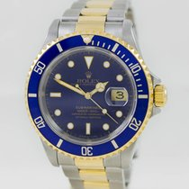 Rolex Submariner Date Steel & Gold Blue Dial