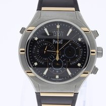 Piaget Polo FortyFive Chronograph GMT Bicolor