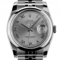 Rolex Datejust Stahl Automatik Armband Jubilé 36mm Ref.116200...