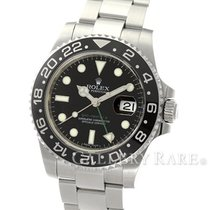 "ロレックス (Rolex) GMT Master II Black Bezel Steel 40MM ""Random..."