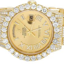 Rolex Mens Rolex Day-Date II 18K President 118238 Yellow Gold...