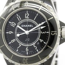 Chanel Polished Chanel J12 Ceramic Quartz Ladies Watch H0682...